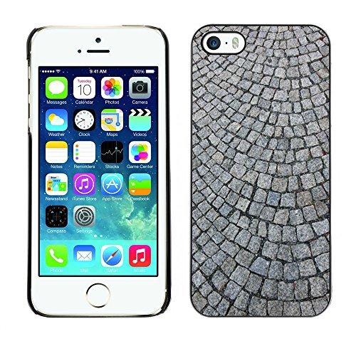 Premio Sottile Slim Cassa Custodia Case Cover Shell // M00156368 Pavé Pavés // Apple iPhone 5 5S 5G