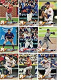 Houston Astros / Complete 2018 Topps Series 1 Baseball 16 Card Team Set! Includes 25 bonus Astros Cards!