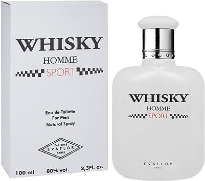 WHISKY Sport • Eau de Toilette 100 ml • Vaporisateur • Parfum Homme • EVAFLORPARIS