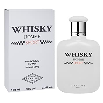 74a4071c6aa23 Evaflor Whisky Homme Sport EDT for Men, 100ml  Amazon.in  Beauty