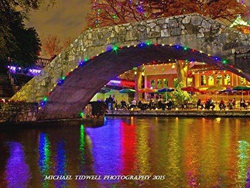 San Antonio Riverwalk During Christmas.Amazon Com 18 X 24 Casa Rio Arch On The San Antonio