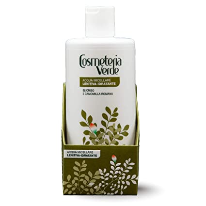 Agua Micelar Calmante-hidratante Cosmeteria Verde - Es una solución detergente que empareja el maximo de la delicadez con una optima capacidad ...
