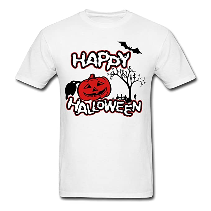 mid-night Hombre Vogue Cómo Happy en Halloween Camisetas: Amazon.es: Ropa y accesorios