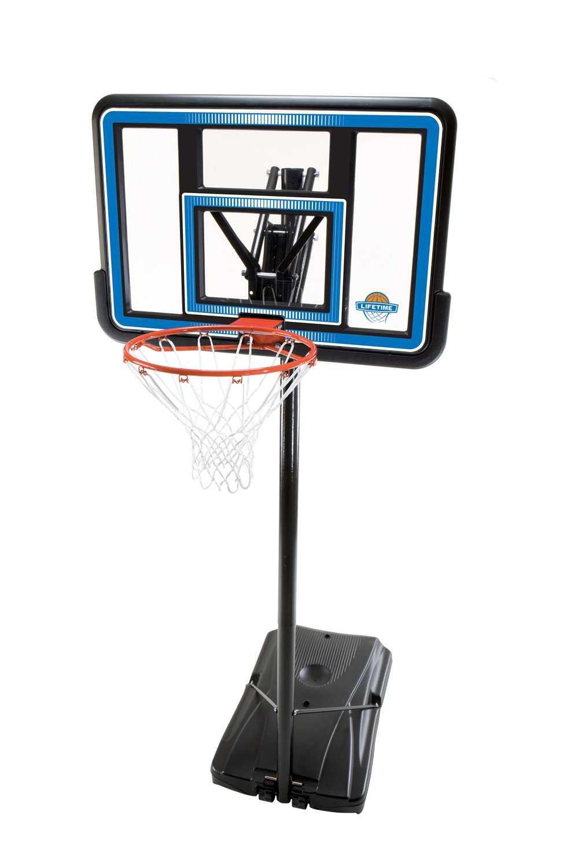 Lifetime 90023 Portable Basketball System, 44 Inch Backboard by Lifetime