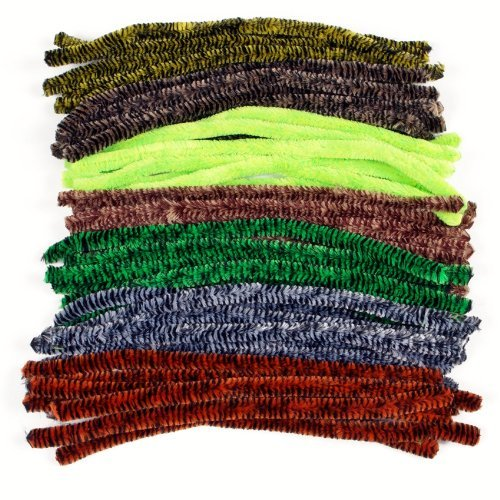 Colossal Pipe Cleaners - Animal Colours 50 Pack