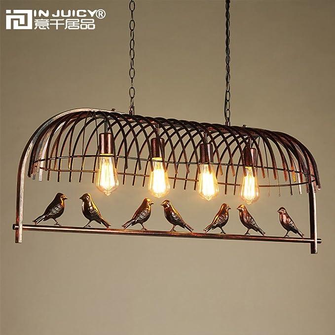 Amazon.com: injuicy iluminación Loft clásico jaula para ...