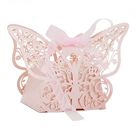 Generic Juego/20pcs pequeño Mariposa caramelos de regalo ...