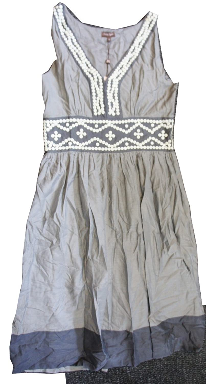 Phase EightDamen Kleid, Paisley Mehrfarbig Stone / Chocolate