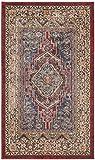 Safavieh Bijar Collection BIJ636B Traditional Oriental Vintage Royal Blue and Brown Area Rug (3′ x 5′) Review