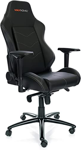 MAXNOMIC Dominator Black Premium Gaming Office Esports Chair