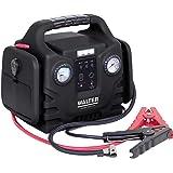 Walter Autostartgerät mit Kompressor, inklusive 12 Volt Anschluss für Batterien/Akkus und Geräte