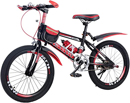 SJSF Y Bicicleta Infantil, Bicicleta De Montaña De 20 Pulgadas ...