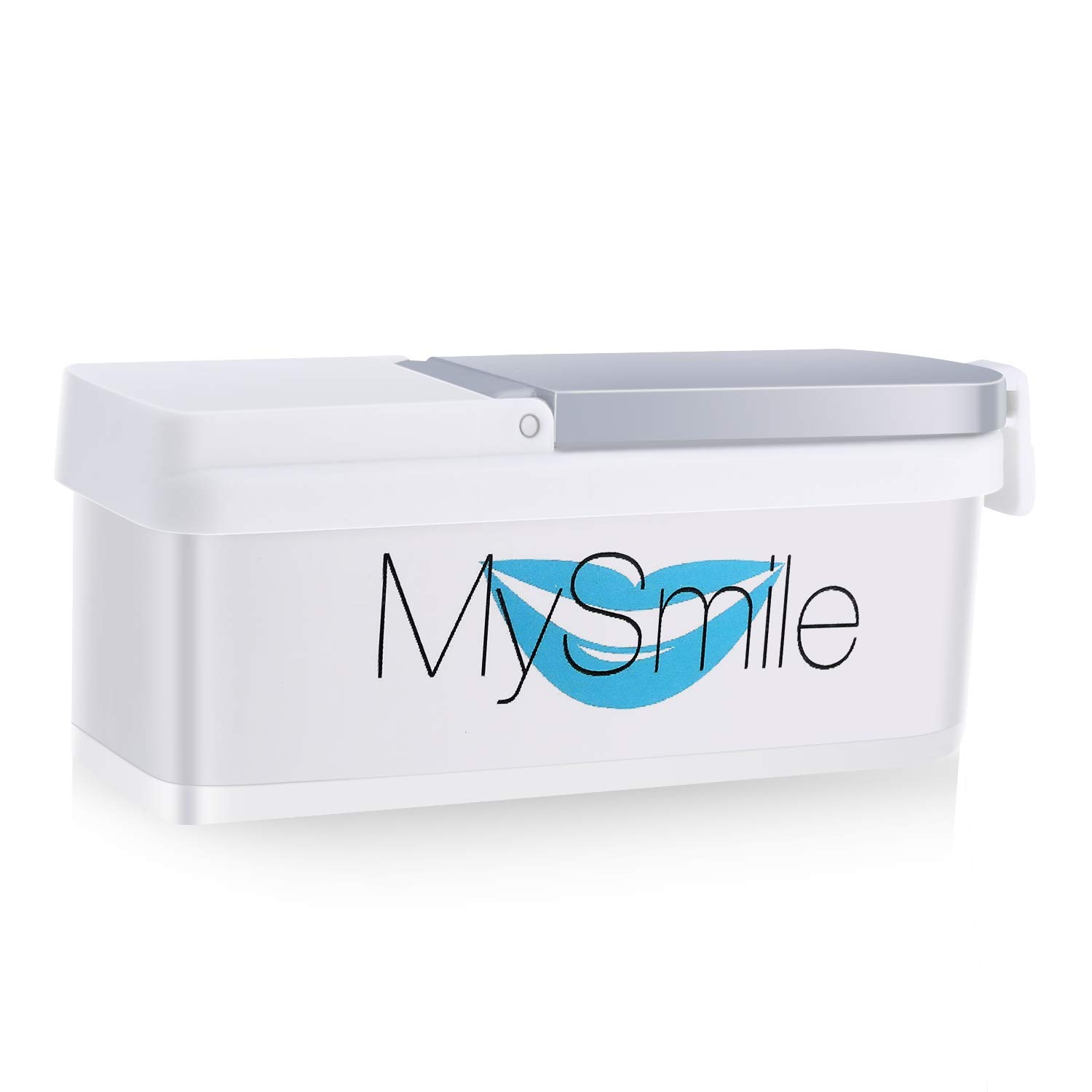 MySmile Natural Teeth Whitening Powder – Non Sensitive Formula – Removes Teeth Stains with No Mess – Freshens breath – 40g