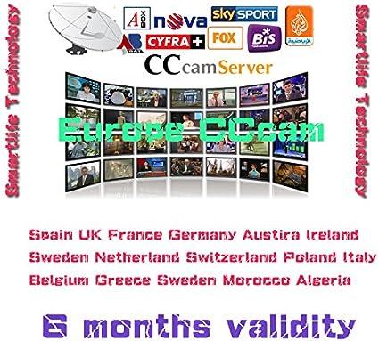 Best Europe CCcam Cline Server 6 months for Satellite Decoder ...