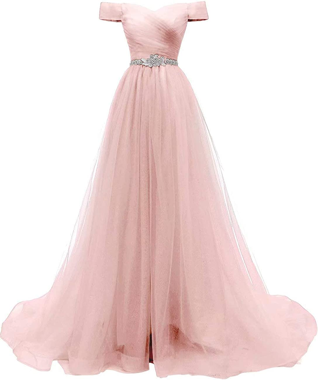 the Shoulder Formal Evening Ball Gown
