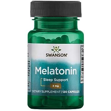 Amazon.com: Swanson Melatonina 3 mg 120 caps: Health ...