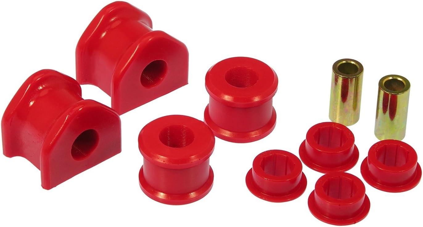 Prothane 6-1161 Red 34 mm Front Sway Bar Bushing Kit