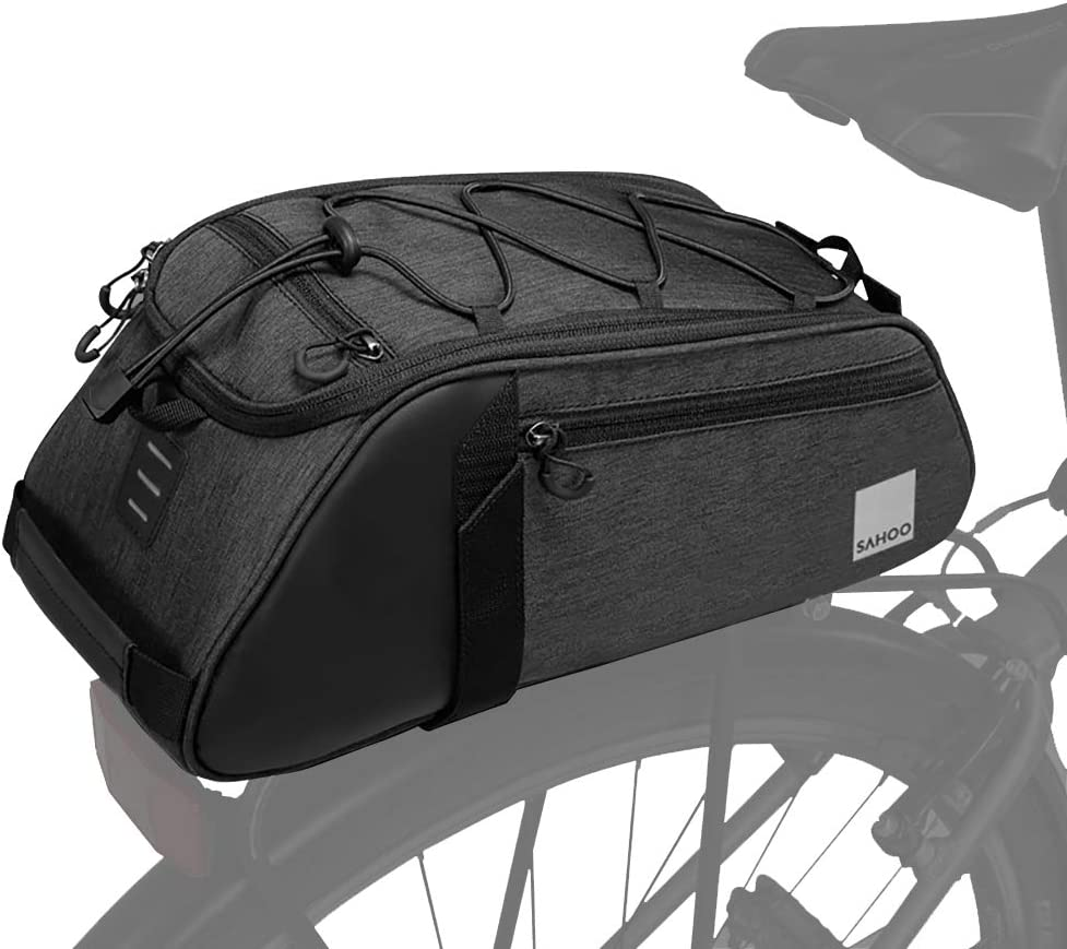 Roswheel Essential Series Convertible Bike Trunk Bag/Pannier