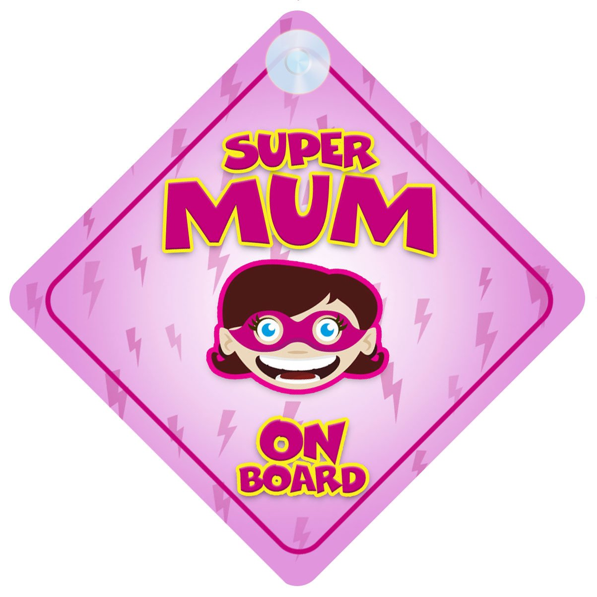 Mum To Be on Board Car Sign Like Baby on Board Pink