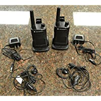 2 Pack of Motorola RMU2040 Two way Radio Walkie Talkies (UHF)
