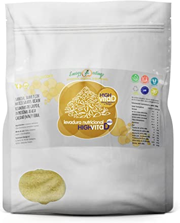 Oferta amazon: Energy Feelings Levadura Nutricional High Vita D Copos (250 gr)
