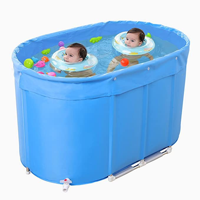 Amazon.com: Piscina infantil piscina de acero inoxidable ...