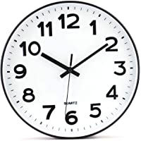 Tebery No de tickende Modern Reloj de Pared