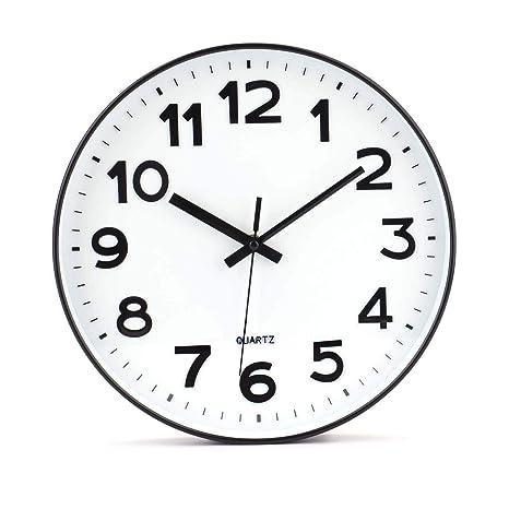 besanil No de tickende Modern Reloj de Pared DIY para salón Oficina de Cocina (30