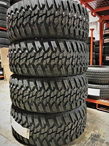 Set of 4 (FOUR) Kanati Mud Hog M/T Radial Tires-LT295/60R20 126/123Q LRE 10-Ply (Tires Truck)