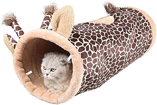 Túneles Para Gatos Artículos Para Gatos Tubos Y Túneles Para Animales Pequeños Canal Plegable Dinosaurio Jirafa Túnel De Gato Negro Mascota Cama De Gato Pequeño Perro Cachorro Perrera Gato Sac: Amazon.es: Productos