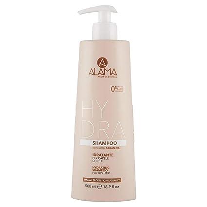 Alama Professional HYDRA Shampoo Idratante per Capelli Secchi 500 ml   Amazon.it  Bellezza 674fc8213118
