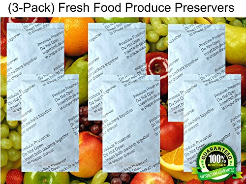 (3-Pack) Compatible Fresh Food Produce Preserver