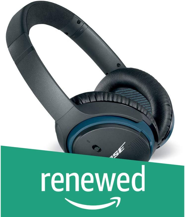 Bose SoundLink around-ear wireless headphones II Black Renewed