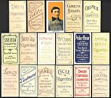 Honus Wagner 1909 T206 (16) Card Baseball REPRINT Lot with all 16 varaition backs (The Most Famous and Expensive Card in the baseball card hobby (Sweet Caporal Back) (American Beauty Back) (Polar Bear