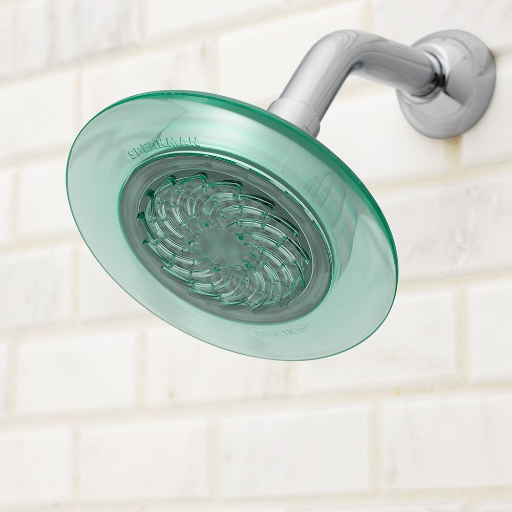 Speakman S-4001 Reaction Fixed 2.5 GPM Shower Head, Jade Green ...
