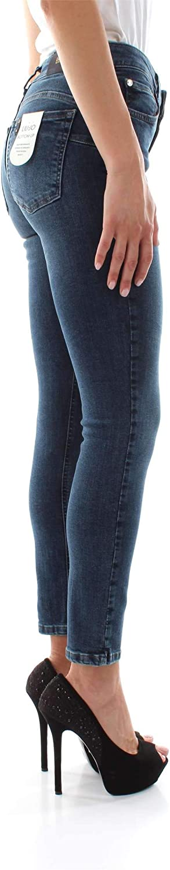 LIUJO BLUE DENIM Pantalone Jeans B.UP Cute H.W Donna Denim U69061//D4127