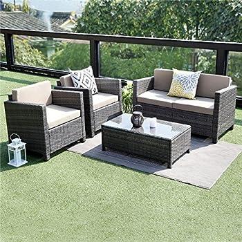 Amazon Com Wisteria Lane Outdoor Patio Furniture Set 5