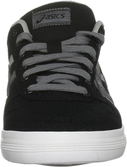 ASICS Aaron CV Sneaker BlackDark Grey, Black, 3: