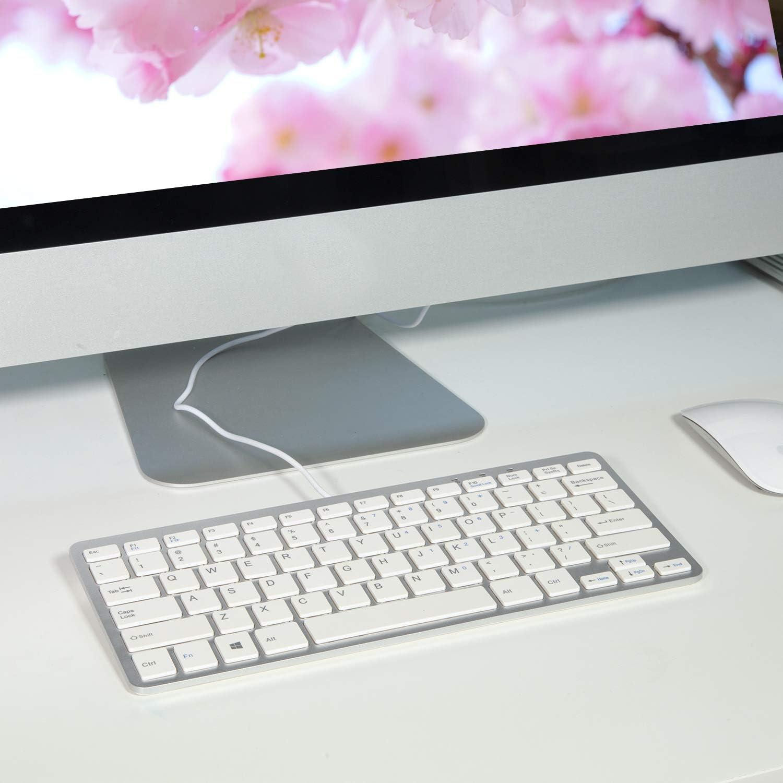 Trissem USB Single Keyboard Business Office Keyboard Easy to Handle Keyboard