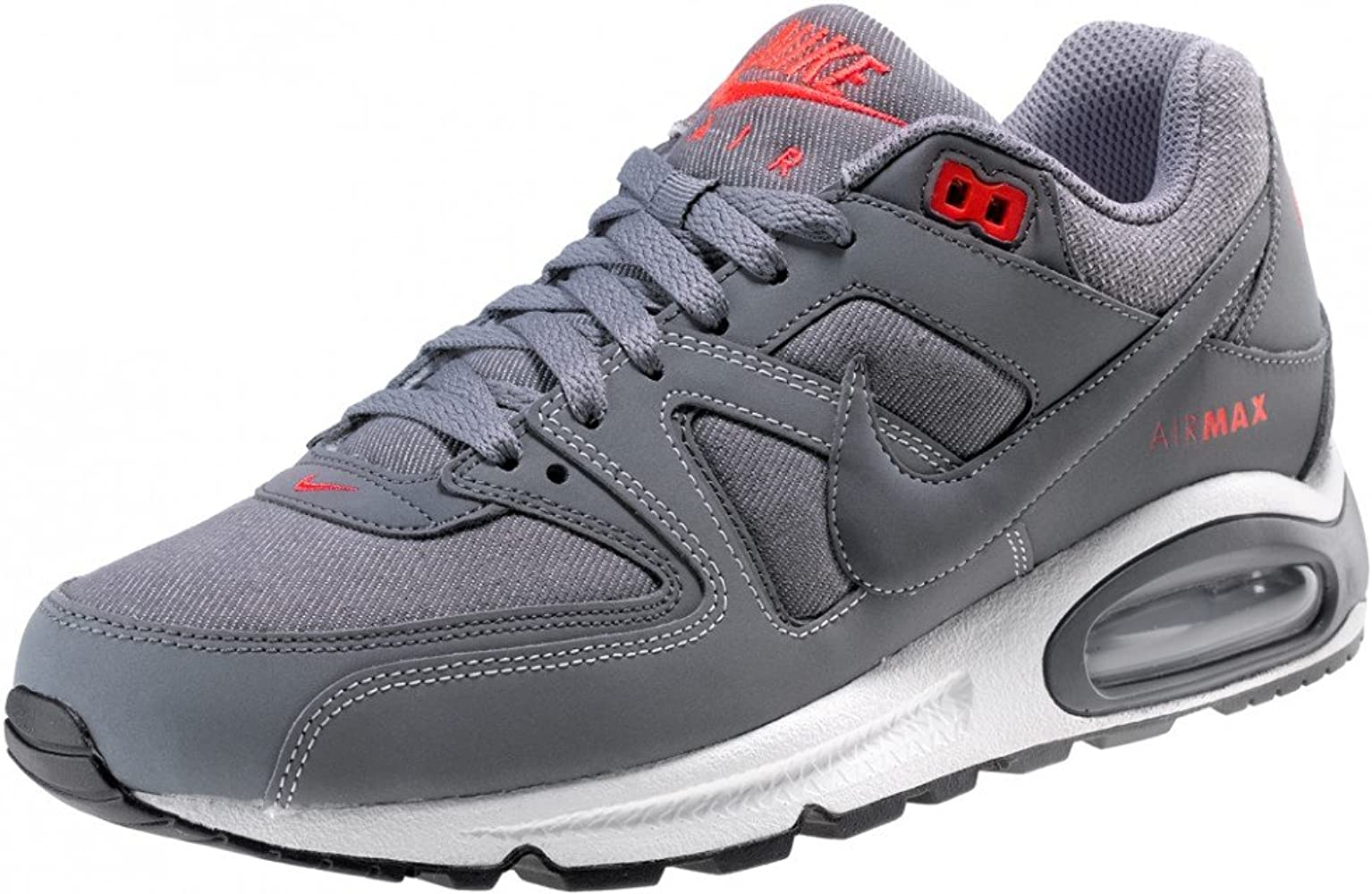 Nike Air Max Command, Chaussures de Gymnastique Homme, Gris (Ashen SlateThunder Diffused Racer Blue 407), 42 EU