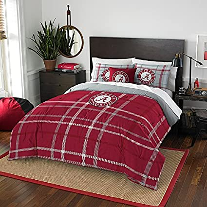 Modern Take Series The Northwest Company Alabama Crimson Tide NCAA King Comforter Set 102 x 86