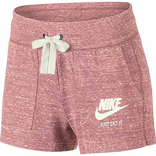 Nike Gym Vntg sail Bleached Aucun Coral W Genre Short Nsw 6rqx7w6