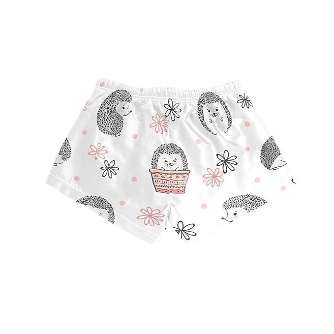 Shorts de Playa para Mujer Cute Hedgehog Animal Swim Trunk con ...