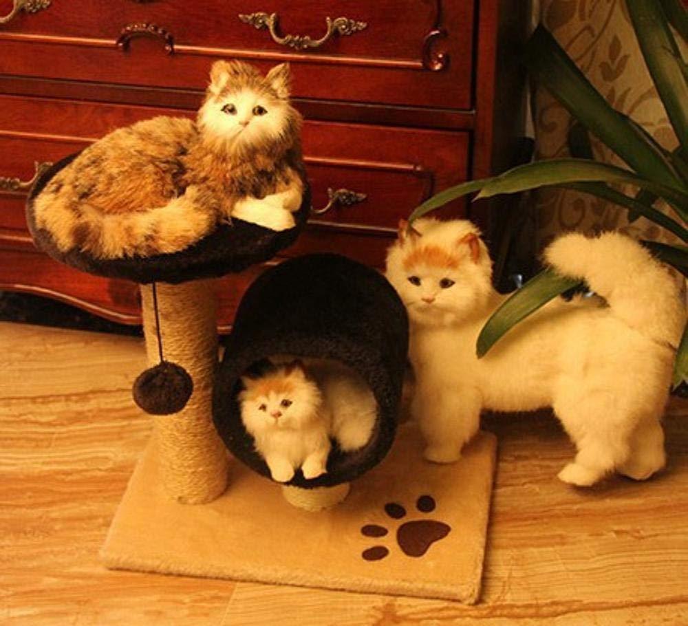 Ludage Animale domestico Cat arrampicata gatto giocattolo sisal sisal sisal gatto saltare gatto arrampicata cornice gatto, graffiare la piastra gatto grab colonna 37 cm  24 cm  37 cm 268c14