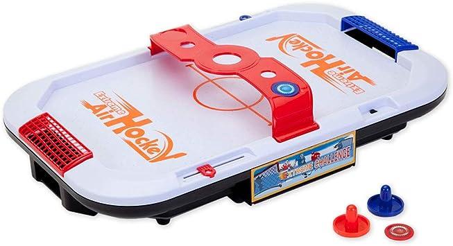 Bits and Pieces – Juego de mesa de hockey de aire extremo – Clásico juego de mini arcade – Juego de mesa portátil para niños, adolescentes y adultos: Amazon.es: Juguetes y juegos