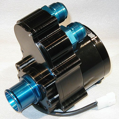 Meziere WP337S Black Dual Outlet Inline Water Pump