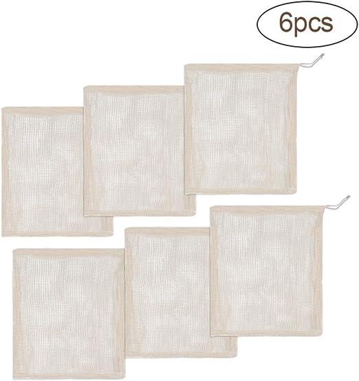 EFINNY Bolsas para productos de algodón Bolsas para productos ...