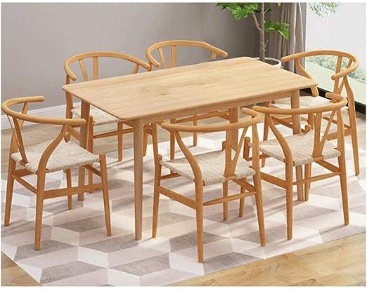 Mesa De Comedor Mesa De Patio Muebles De Cocina Salón Color Roble ...