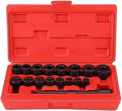 Broco 17pcs Universal Clutch Alignment Tool Kit Aligning Centering Aligner Car Case
