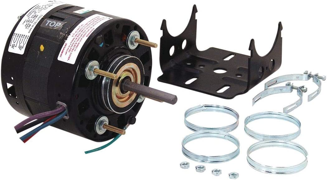 Century 1/10 HP Direct Drive Blower Motor, Shaded Pole, 1550 Nameplate RPM, 115/208-230 Voltage, Frame 42Y - RF4400
